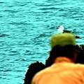 Photos: 釣り人と