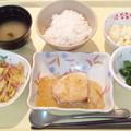 2月17日夕食(カジキマグロの葱ソース) #病院食