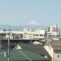 今朝は久しぶりに綺麗に見えた気がする富士山 #富士山