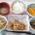 6月9日昼食(赤魚のおろしかけ) #病院食