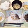 6月10日夕食(鰆の幽庵焼き) #病院食