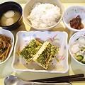 6月16日夕食(千草焼き) #病院食