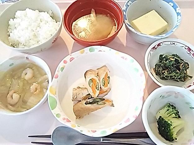 6月18日昼食(八幡巻) #病院食