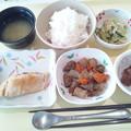 7月10日夕食(めだいの甘味噌焼き) #病院食