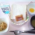 7月13日朝食(目玉焼き) #病院食