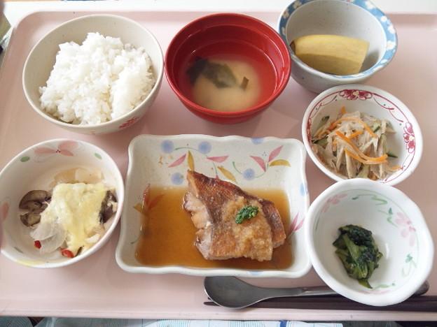 7月18日昼食(赤魚のみぞれ煮) #病院食