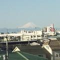 昨晩の強い雷雨で空気が綺麗になったのか、今朝の富士山ははっきり見えています! #富士山 #雷雨