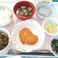 12月8日昼食(とんかつ) #病院食