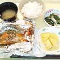 12月8日夕食(鮭のホイル焼き) #病院食