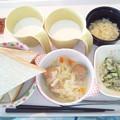 12月15日朝食(肉団子入り野菜のコンソメ煮) #病院食