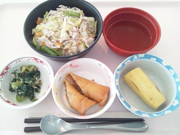 12月18日昼食(タンメン) #病院食