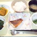 Photos: 3月20日夕食(めばるの蒲焼き) #病院食