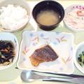 Photos: 5月18日夕食(めばるの蒲焼) #病院食