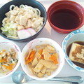 Photos: 5月24日昼食(鶏南蛮うどん) #病院食