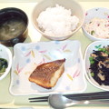 Photos: 8月19日夕食(めばるの蒲焼き) #病院食