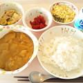 Photos: 8月22日昼食(シーフードカレー) #病院食