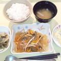 9月9日夕食(鯵の野菜あんかけ) #病院食