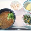 9月11日昼食(盛岡じゃじゃ麺) #病院食