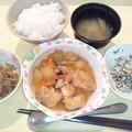 9月15日夕食(治部煮) #病院食