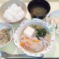 10月14日夕食(肉豆腐) #病院食