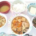 Photos: 10月19日昼食(家常豆腐) #病院食