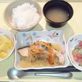Photos: 10月19日夕食(鮭の焼き南蛮漬け) #病院食