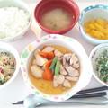 Photos: 10月20日昼食(吉野煮) #病院食
