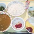 Photos: 10月20日夕食(ビーフカレー) #病院食