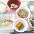 10月21日昼食(めだいの味噌焼き) #病院食