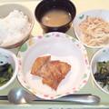 Photos: 10月21日夕食(鶏肉のにんにく醤油焼き) #病院食