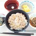 11月19日昼食(肉うどん) #病院食