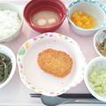 11月20日昼食(ポテトコロッケ) #病院食