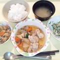 11月20日夕食(鶏肉と大根の煮物) #病院食