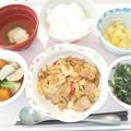 12月9日昼食(豚肉の味噌炒め) #病院食