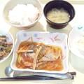 12月9日夕食(鯵の野菜あんかけ) #病院食