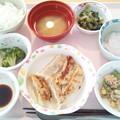 12月10日昼食(手作り焼餃子) #病院食