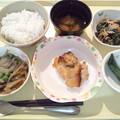 12月10日夕食(鶏肉の味噌焼き) #病院食