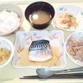 12月12日夕食(鯖の生姜煮) #病院食