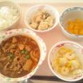 12月15日昼食(ハッシュドポーク) #病院食