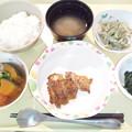 Photos: 12月16日夕食(鶏の山椒焼き) #病院食