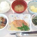 Photos: 1月18日昼食(赤魚の煮付け) #病院食