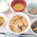 1月19日昼食(家常豆腐) #病院食