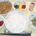 Photos: 1月20日夕食(ビーフカレー) #病院食
