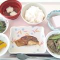 1月21日昼食(めだいの味噌焼き) #病院食