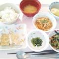 1月22日昼食(松風焼き) #病院食