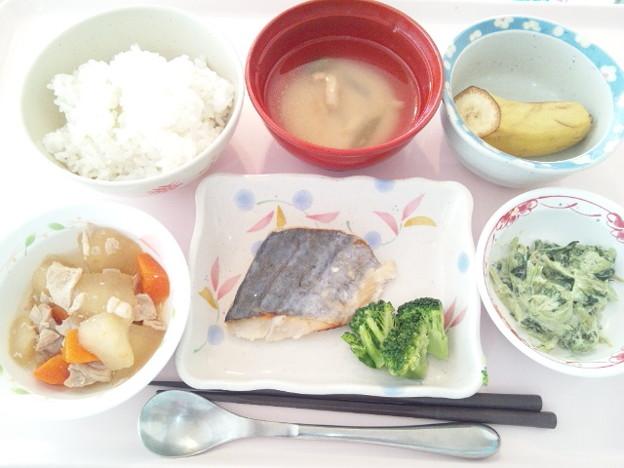 2月12日昼食(鰆の塩麹焼き) #病院食