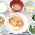 2月24日昼食(鶏肉のソテーガリバタソース) #病院食