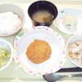 2月24日夕食(メンチカツ) #病院食