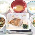 2月26日昼食(鰆の胡麻焼き) #病院食