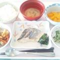 3月28日昼食(鰆の塩麹焼き) #病院食